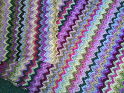 Crochet Afghan Pattern Zig Zag : ZIG ZAG CROCHET PATTERN ? Easy Crochet Patterns
