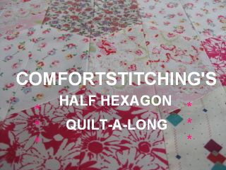 half hexagon quiltalong