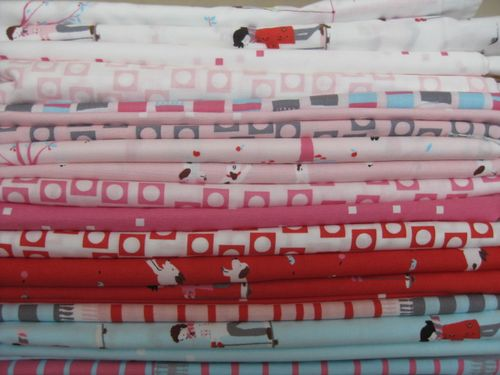 Aneela Hoey's Sherbert Pips fabric at her blog