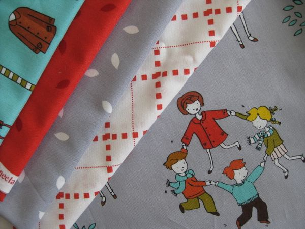 Little Apples Fat Quarter Bundle  Moda  Quilt Fabric
