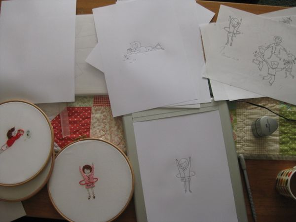 Hula Hoops And Bookworms Comfortstitching