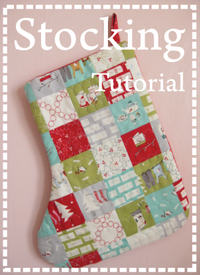 Stocking tutorial button