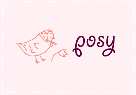 Posy button