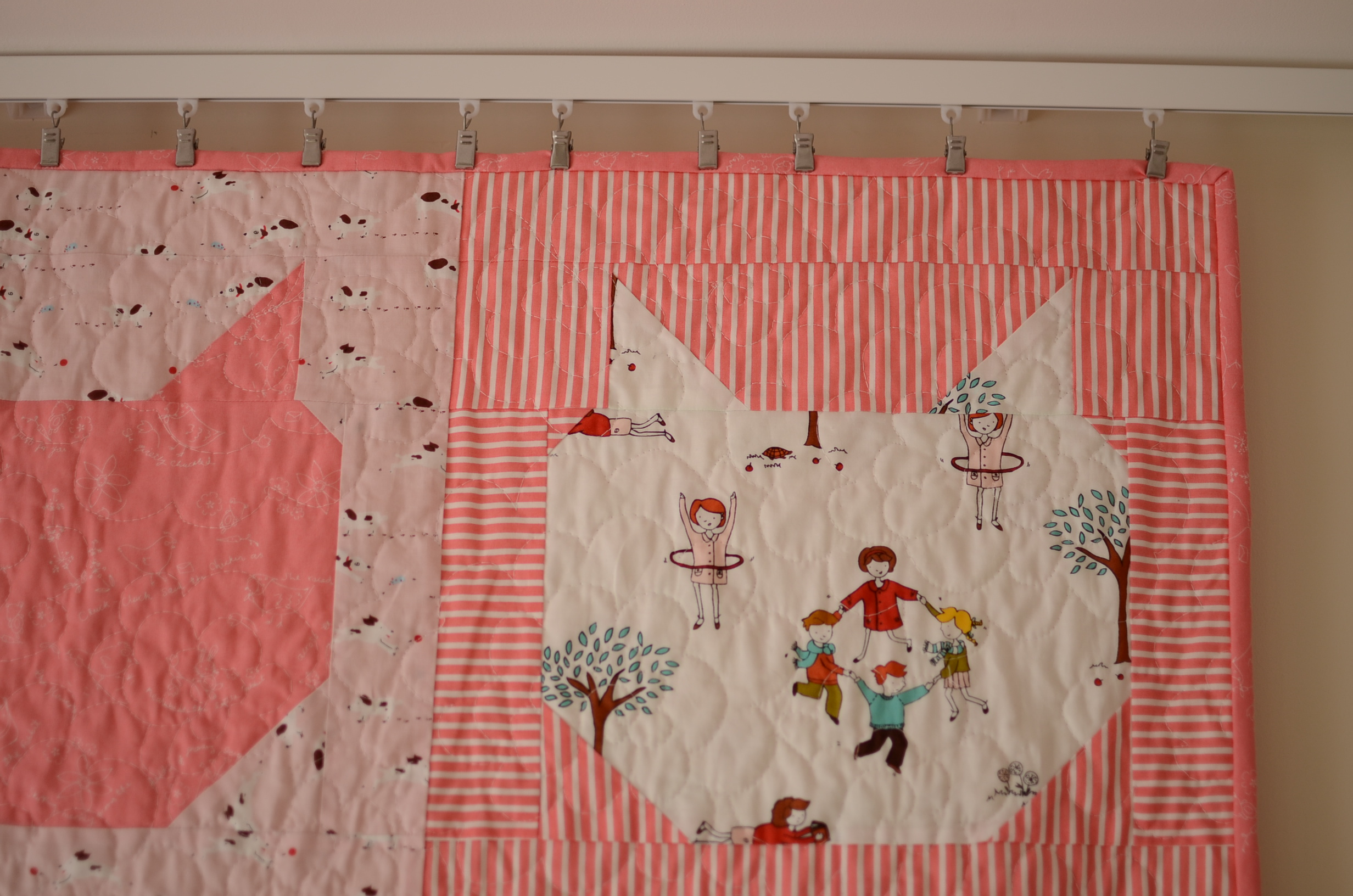 comfortstitching meow quilt 027