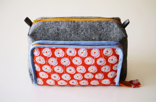 All in one box pouch by aneela hoey front view