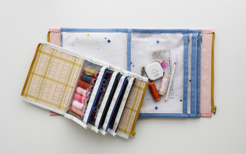Booklet pouch pattern by aneela hoey 1