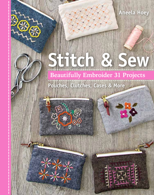 Stitch and sew book by aneela hoey