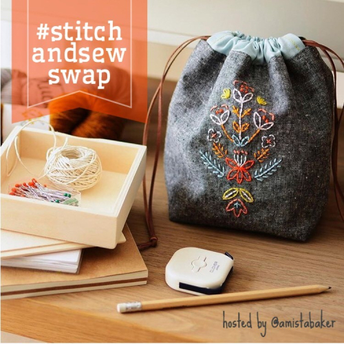 Stitch and sew swap
