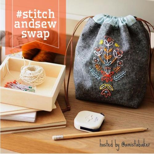 Stitch and sew swap