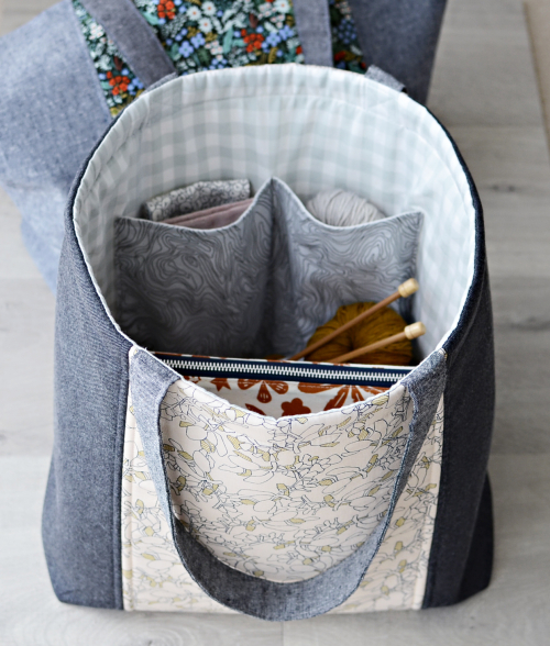 Go easy tote pattern by aneela hoey